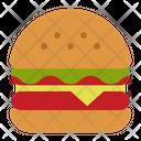 Burger Junk Food Hamburger Icon