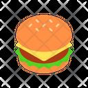 Burger Hamburger Fastfod Icon