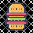 Burger Fastfood Food Icon