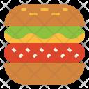 Hamburger Fastfood Burger Icon
