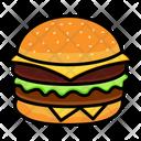 Burger Hamburger Snack Icon
