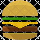 Hamburger Burger Fast Food Icon