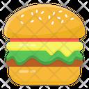 Patty Burger Burger Hamburger Icon