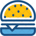 Burger Fast Junk Icon