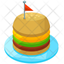 Burger Fastfood Snacks Icon
