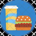 Burger Juice Fast Food Icon