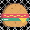Burger Hamburger Fast Food Icon