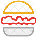 Burger Cheese Chicken Icon