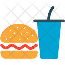Burger Drink Fast Icon
