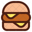 Burger Cheese Hamburger Icon