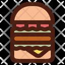 Burger Double Hamburger Icon