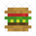 Burger Food Meat Icon