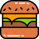 Burger Takeaway Lettuce Icon