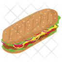 Burger Fast Food Junk Meal Icon