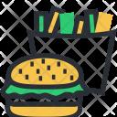Burger Fast Food Icon