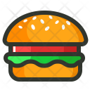 Burger Junk Meal Icon