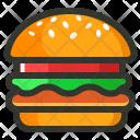 Burger Fast Veg Icon