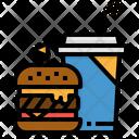 Burger Menu Drink Icon