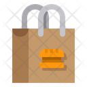 Shopping Bag Bag Food Shopping Delivery Icon