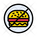 Stop Fastfood Notallowed Icon