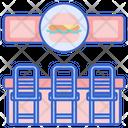 Burger Bar Burger Shop Burger Stall Icon