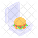 Burger Box Icon