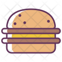Burger Cheese Fastfood Icon