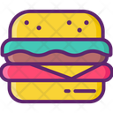 Burger Cheeseburger Cheese Burger Burger Icon