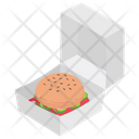 Burger Delivery Fast Food Restaurant Food Icon
