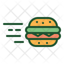 Burger Delivery Burger Fast Delivery Icon