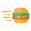 Burger Delivery Icon