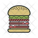 Burger Fastfood Food Icon