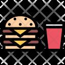 Burger Kitchen Cooking Icon