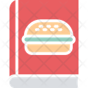 Burger Recipe Cookbook Cooking Book Icon