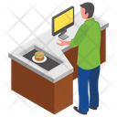 Burger Shop Burger Stall Food Corner Icon