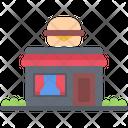 Burger Restaurant Fast Icon