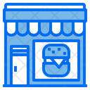 Burguer Food Store Icon