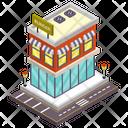 Restaurant Burger Shop Cafe Icon