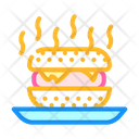 Burger Smell Food Smell Fast Icon