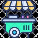 Burger Stall Shop Icon