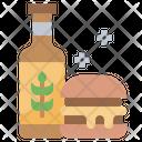 Burger Beef Hamburger Icon