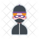 Burglar Avatar Icon