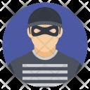 Burglar Thief Crime Icon