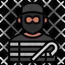 Burglar Avatar Stealing Icon