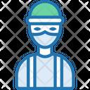 Burglar Criminal Robber Icon