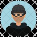 Burglar Man Avatar Icon