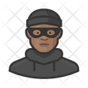 Burglar Black Male Burglar Black Icon