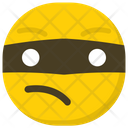 Burglar Emoji Emoticon Smiley Icon