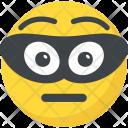 Burglar Bandit Emoticon Icon
