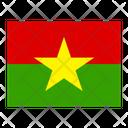 Burkina Faso Flag Flags Icon